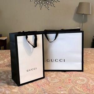 Gucci Paper Bags Autentic & Price Firm